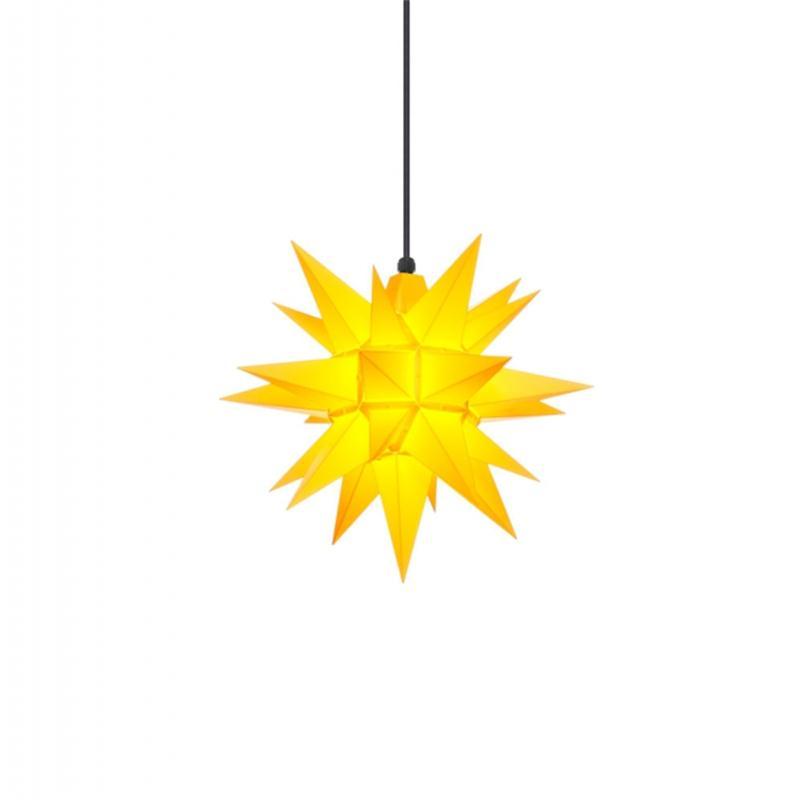 Herrnhuter A4 Stern Kunststoff gelb 40 cm
