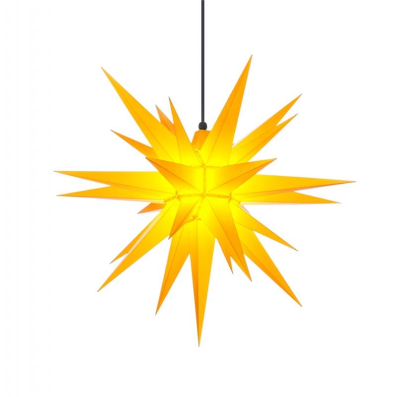 Herrnhuter A7 Stern Kunststoff gelb 68 cm