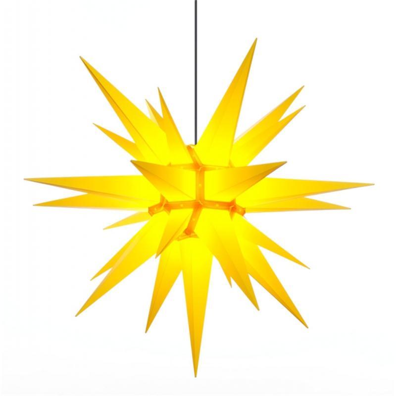 Herrnhuter A13 Stern Kunststoff gelb 130 cm