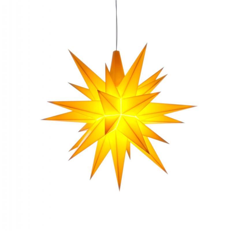 Herrnhuter A1E Stern Kunststoff gelb 13 cm
