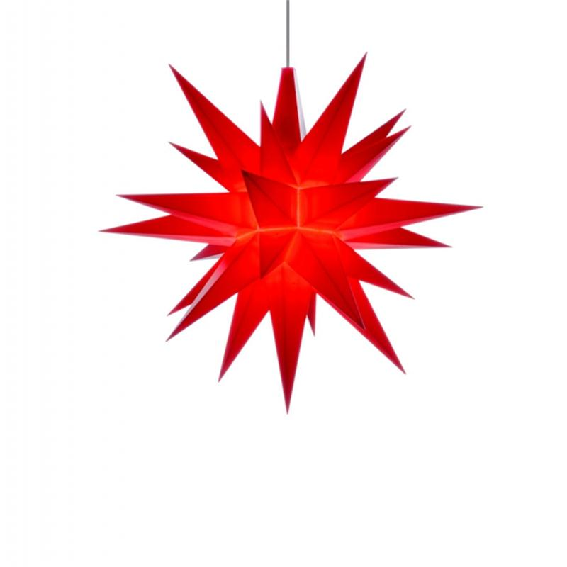 Herrnhuter A1E Stern Kunststoff rot 13 cm