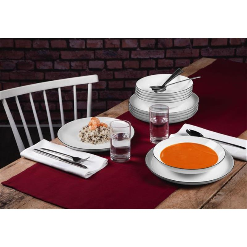 seltmann lido black line tafelservice 12 teilig. Black Bedroom Furniture Sets. Home Design Ideas