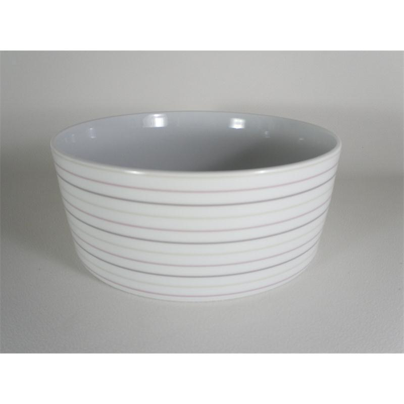Seltmann No Limits Cream Lines Schale rund 5298 20 cm hoch 8 cm 24943
