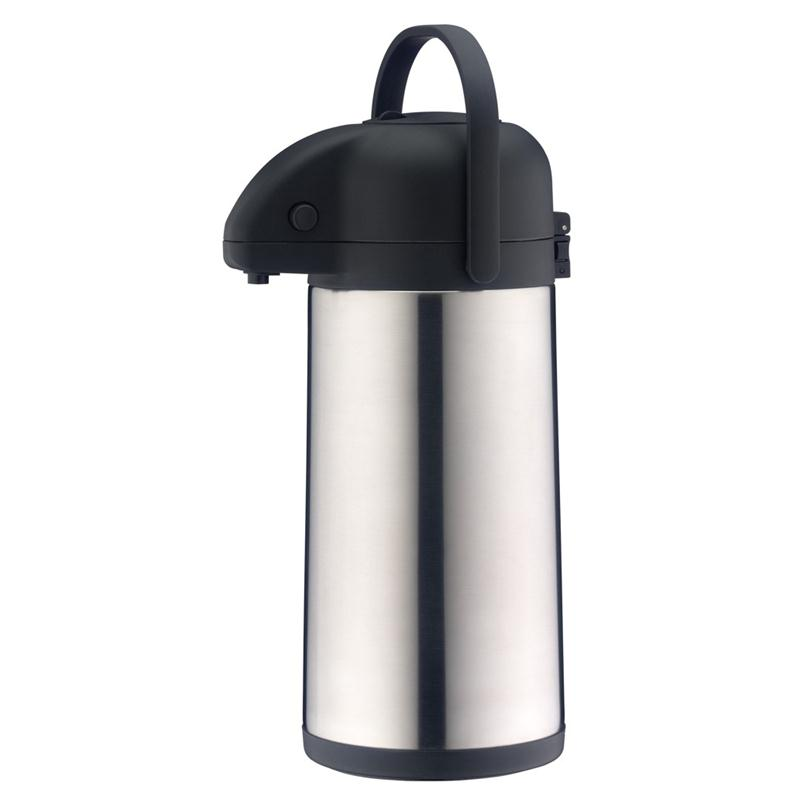 alfi Pumpkanne TT 2,5 Liter Getränkespender Edelstahl Drehboden 20 Tassen