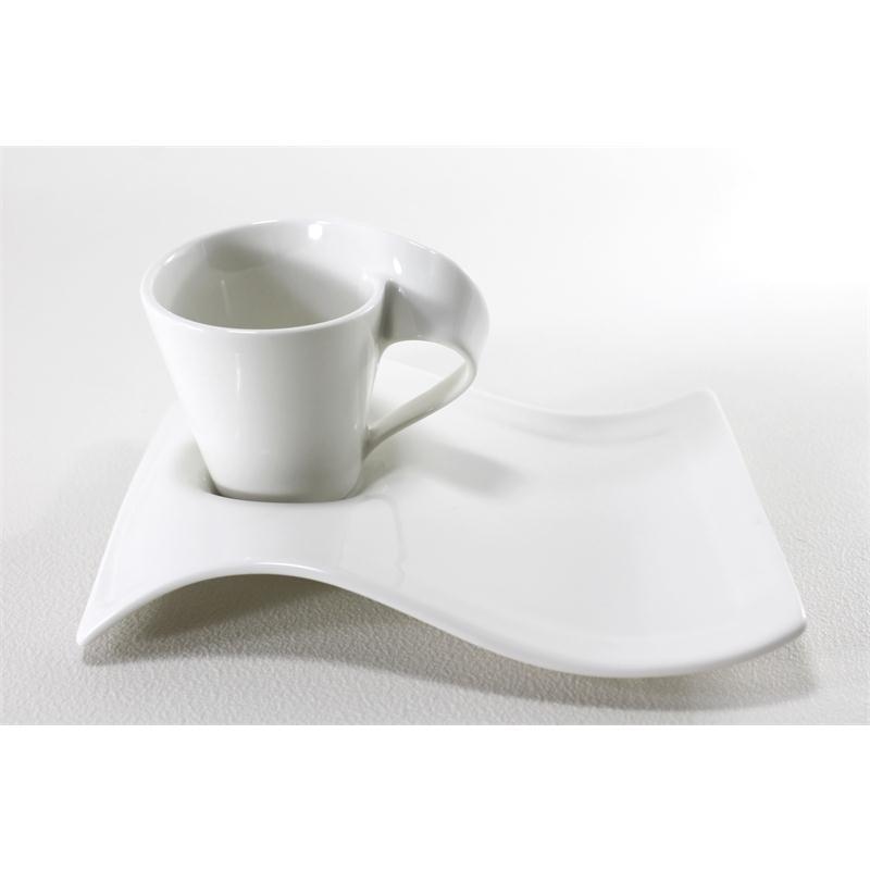v b new wave caffee 1 espresso set 2tlg neu 1 wahl m partyplatte klein. Black Bedroom Furniture Sets. Home Design Ideas