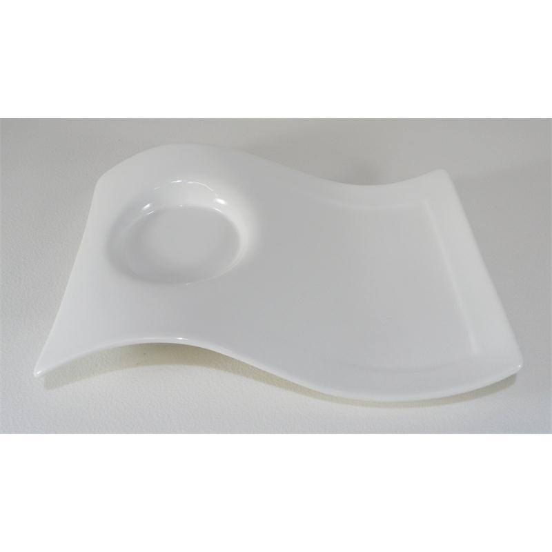 v b new wave caffee partyplatte gro 22x17 cm gro er unterteller party platte. Black Bedroom Furniture Sets. Home Design Ideas