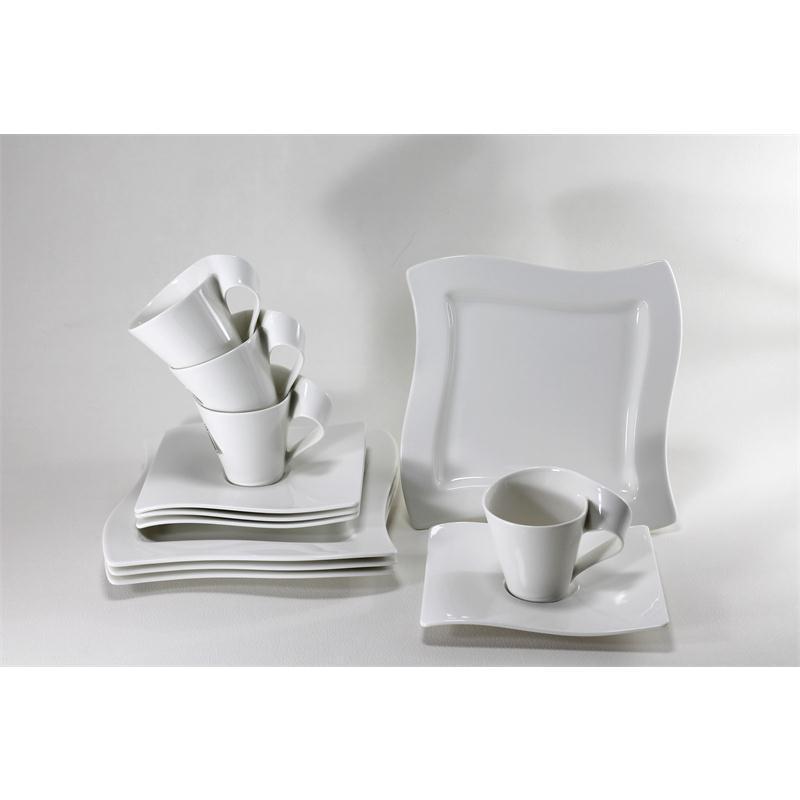 v b new wave kaffeeservice 12 tlg 4 pers kaffetasse fr hst cksteller villeroy boch. Black Bedroom Furniture Sets. Home Design Ideas