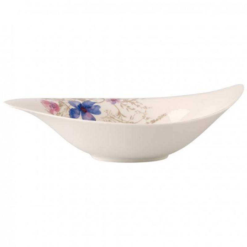 V&B Mariefleur Gris Special Serve Salad Salatschüssel 45x31 cm