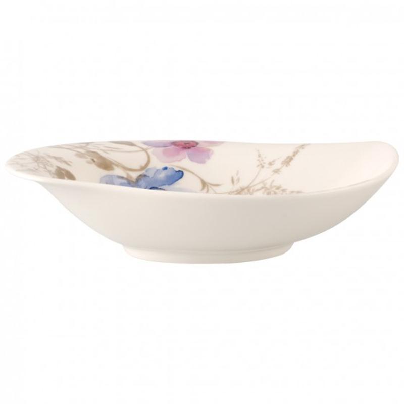 V&B Mariefleur Gris Special Serve Salad Schale tief 21x18cm
