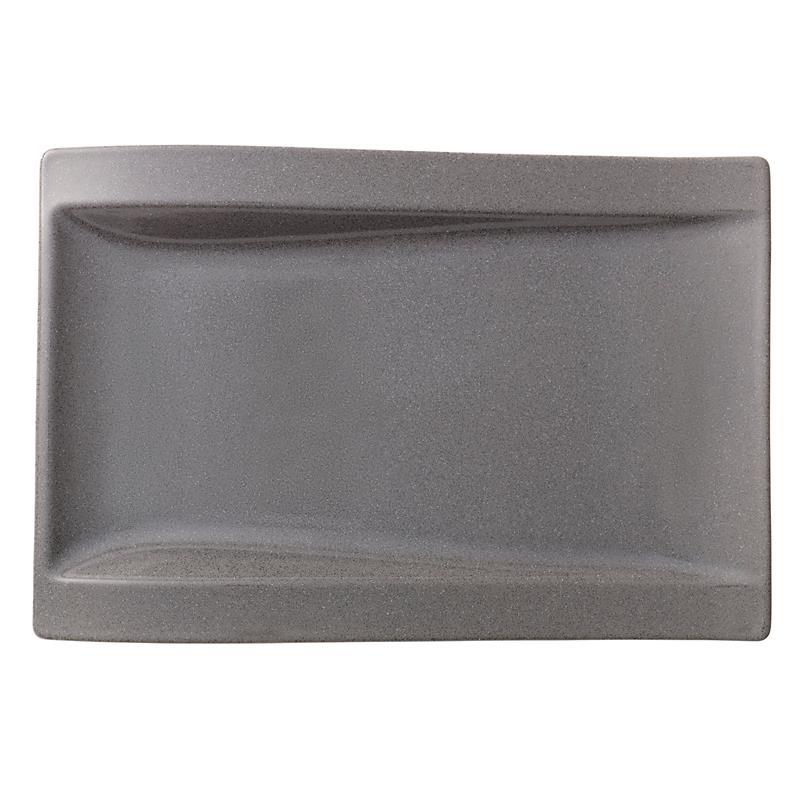 neu v b new wave stone gourmetteller 37x25 cm. Black Bedroom Furniture Sets. Home Design Ideas