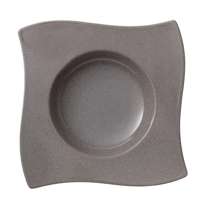 neu v b new wave stone suppenteller 24 cm. Black Bedroom Furniture Sets. Home Design Ideas