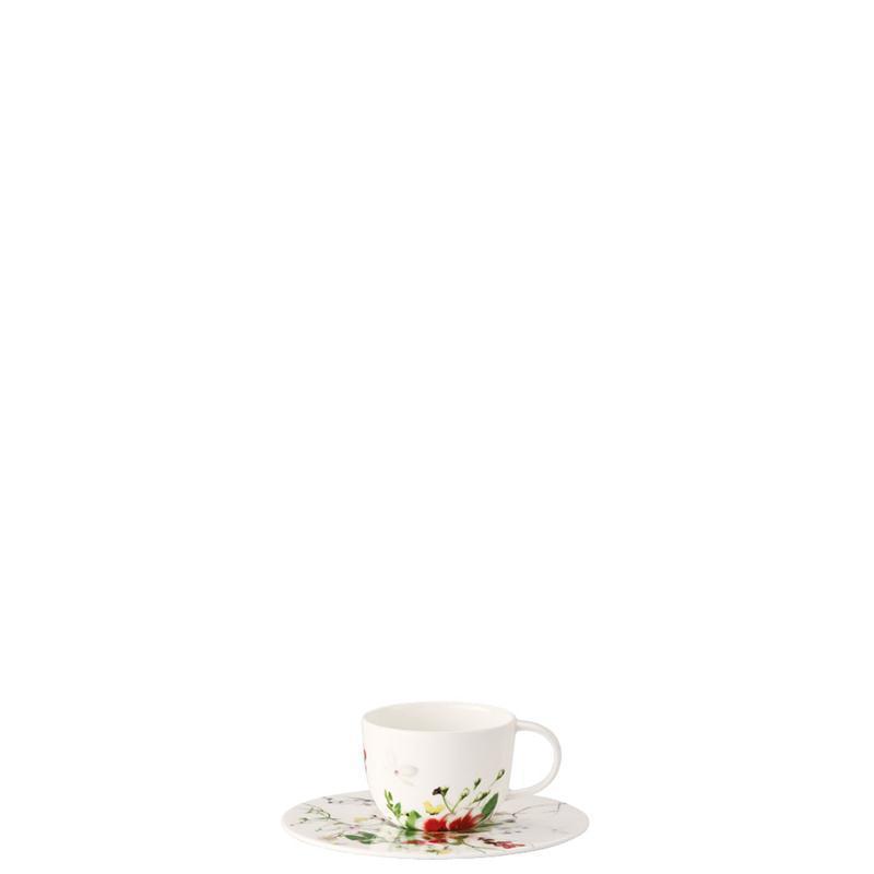 Rosenthal Brilliance Fleurs Sauvages Espressotasse 2 tlg.Espresso Tasse Mokka