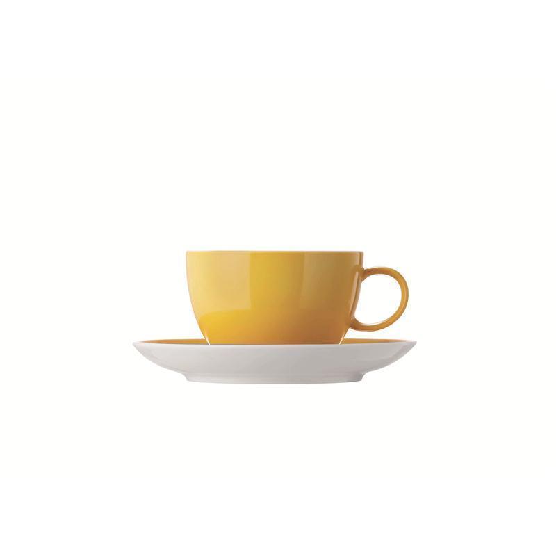 Thomas Sunny Day Tasse Teetasse Kombitasse yellow gelb 0,2L 2T.