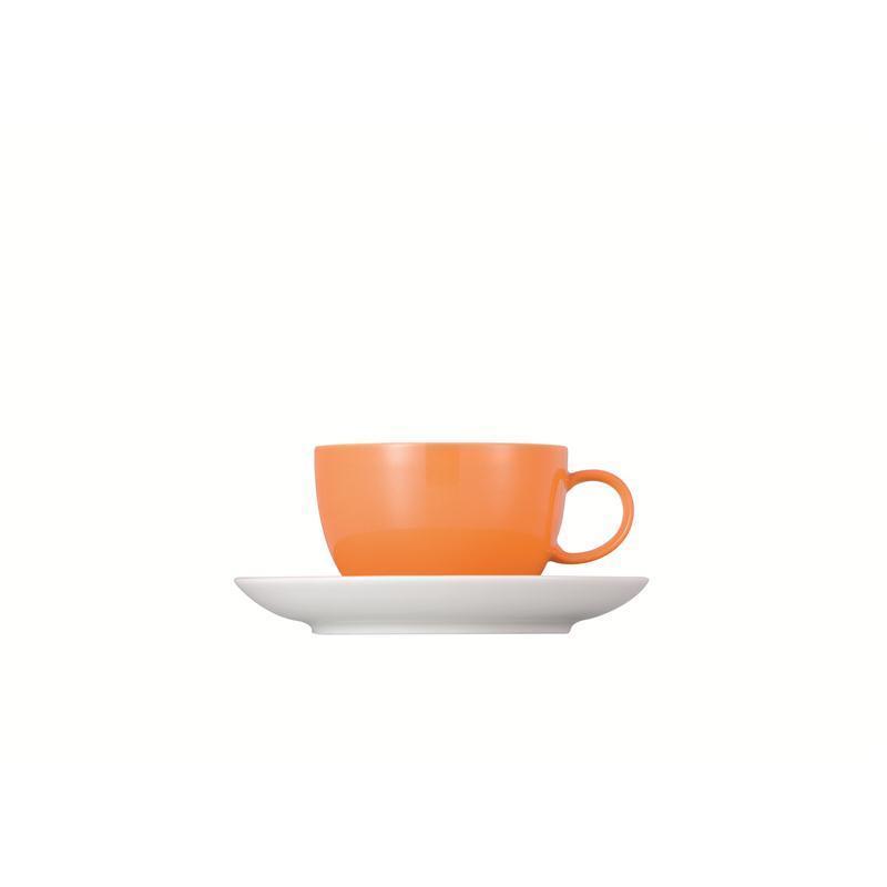 Thomas Sunny Day Tasse Teetasse Kombitasse orange 0,2L 2tlg.