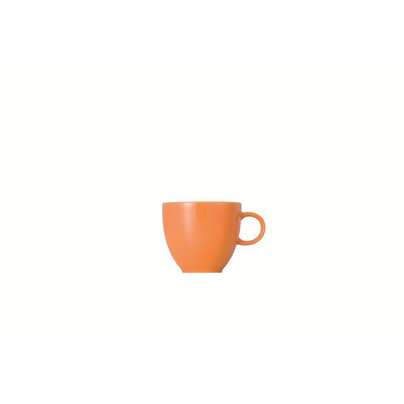 Thomas Sunny Day Orange Espr/Mokka-Obertasse