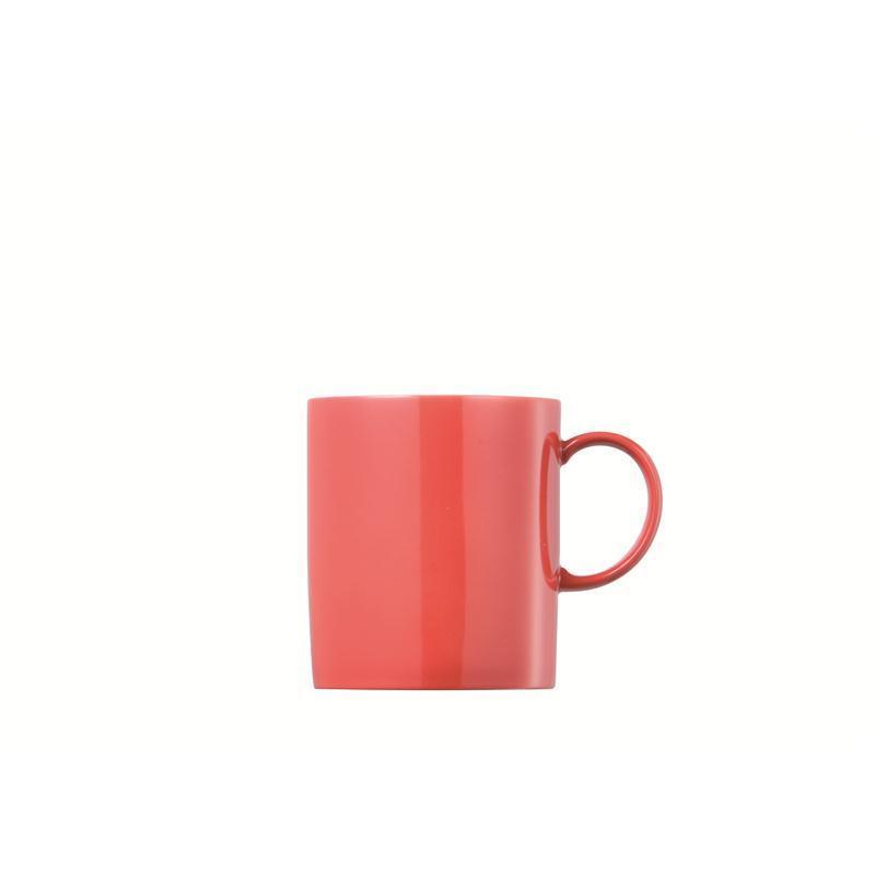 Thomas Sunny Day Henkelbecher Becher Mug new red  rot