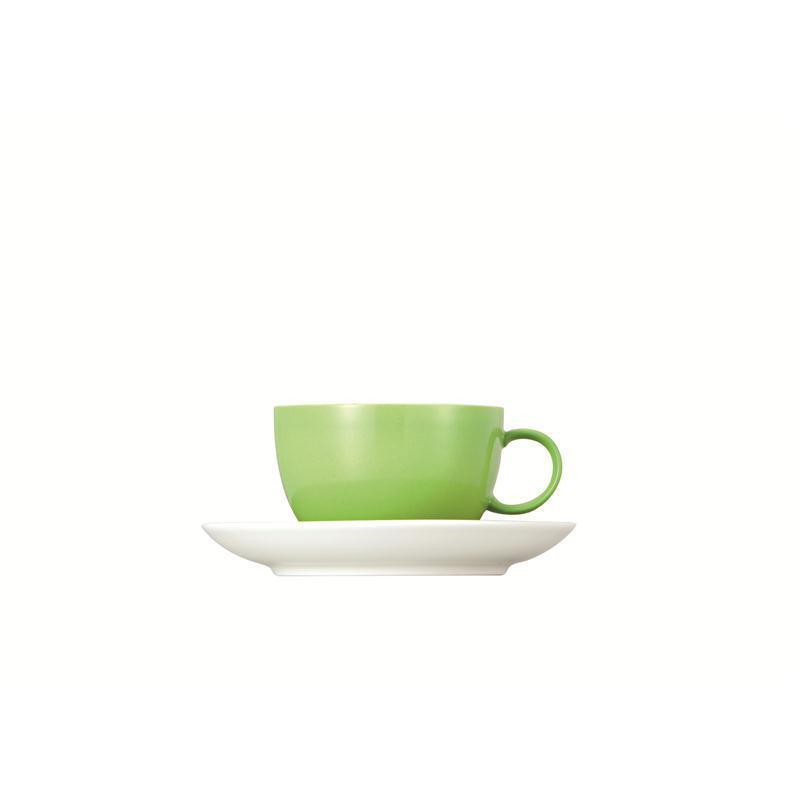 Thomas Sunny Day Tasse Teetasse Kombitasse apple green 0,2L 2tlg.