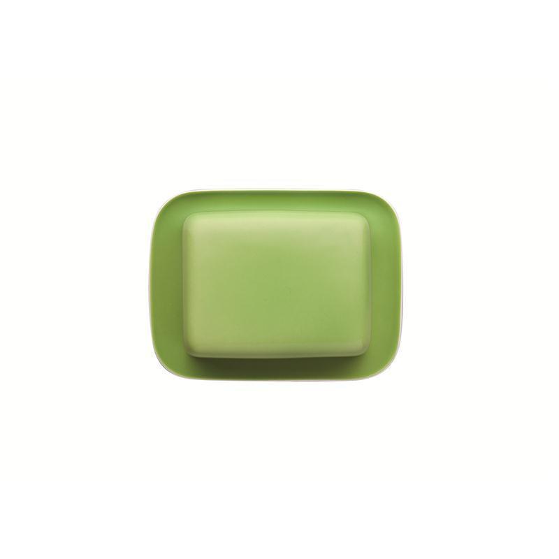 Thomas Sunny Day Butterdose Apple Green 2 tlg. grün Butterplatte Glocke