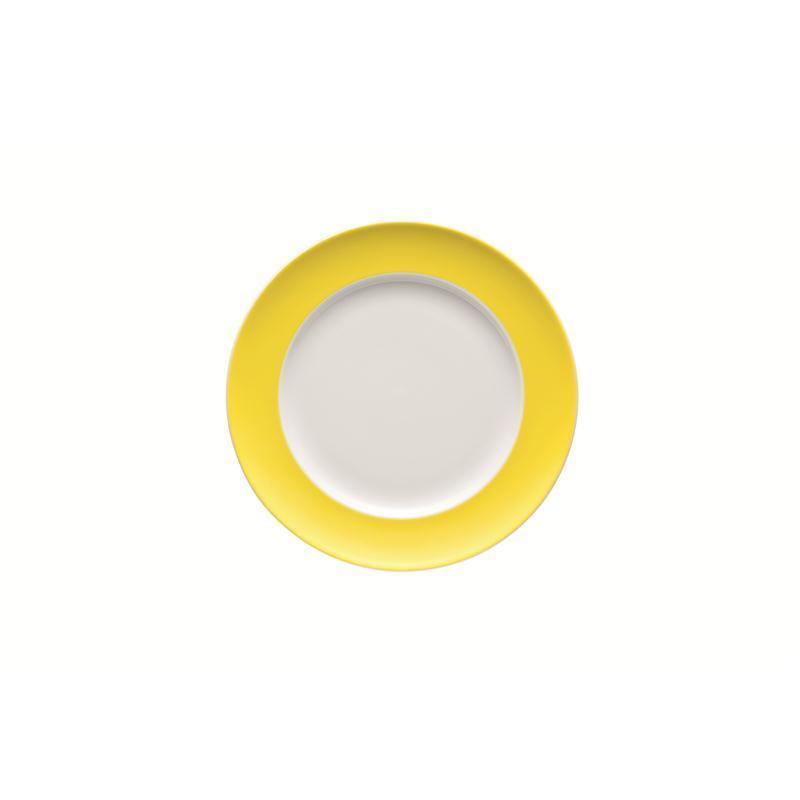 thomas sunny day fr hst cksteller teller neon yellow gelb 22 cm teller flach. Black Bedroom Furniture Sets. Home Design Ideas