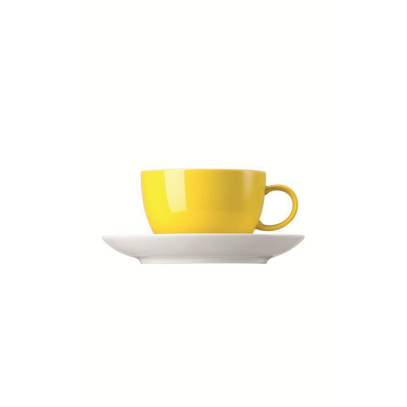 Thomas Sunny Day Tasse Teetasse Kombitasse neon yellow gelb 0,2L
