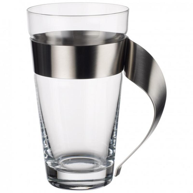 V&B New Wave Caffee 1 Latte Macchiato Villeroy & Boch Glas Edelstahl