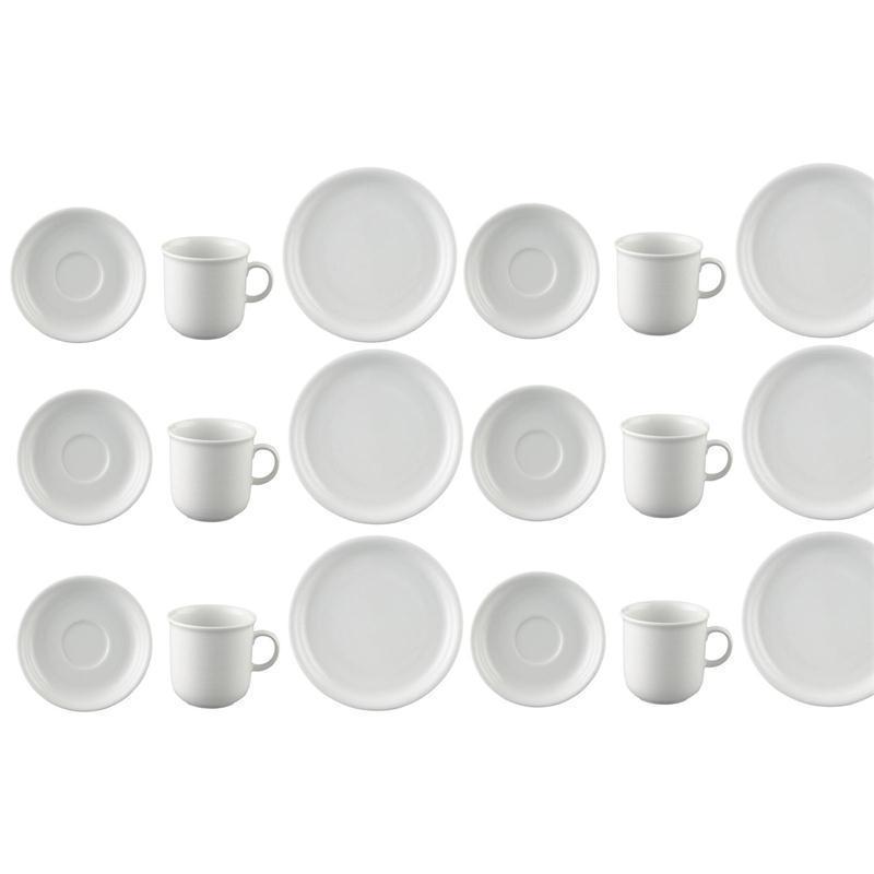 Thomas Trend Weiss Kaffeeset 18 teilig