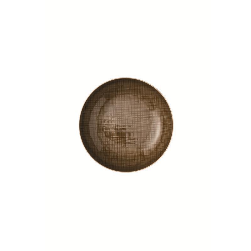 Rosenthal Mesh Walnut Teller tief 21 cm braun