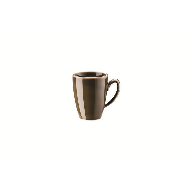Rosenthal Mesh Walnut Espresso-Obertasse Mokkaobere 0,08 ltr. braun