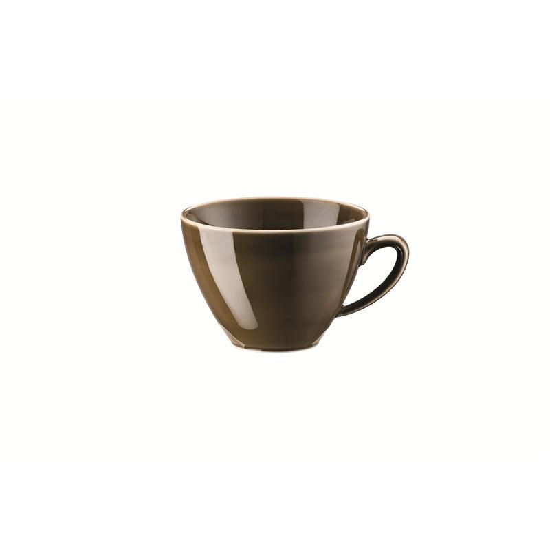 Rosenthal Mesh Walnut Kombi-Obertasse Kaffeeobere Obertasse 0,29 ltr. braun