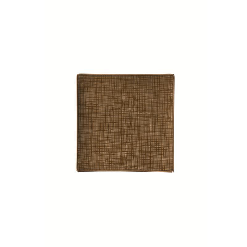 Rosenthal Mesh Walnut Teller quadr. 31 fl. braun