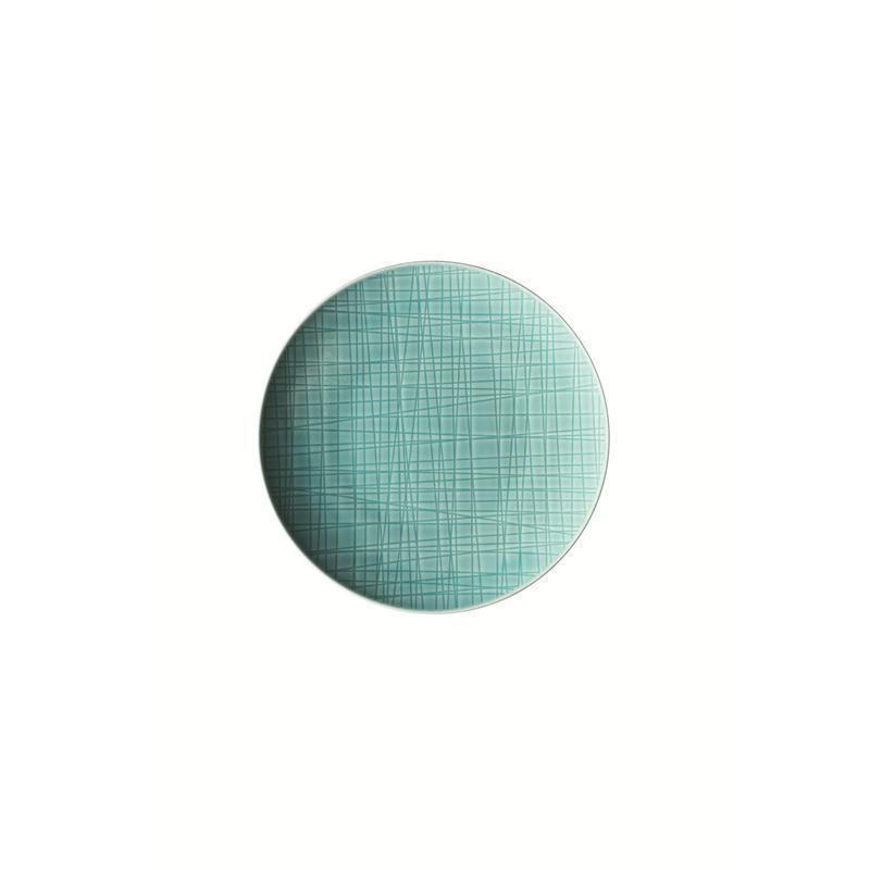 Rosenthal Mesh Aqua Teller flach 17 cm blau Brotteller