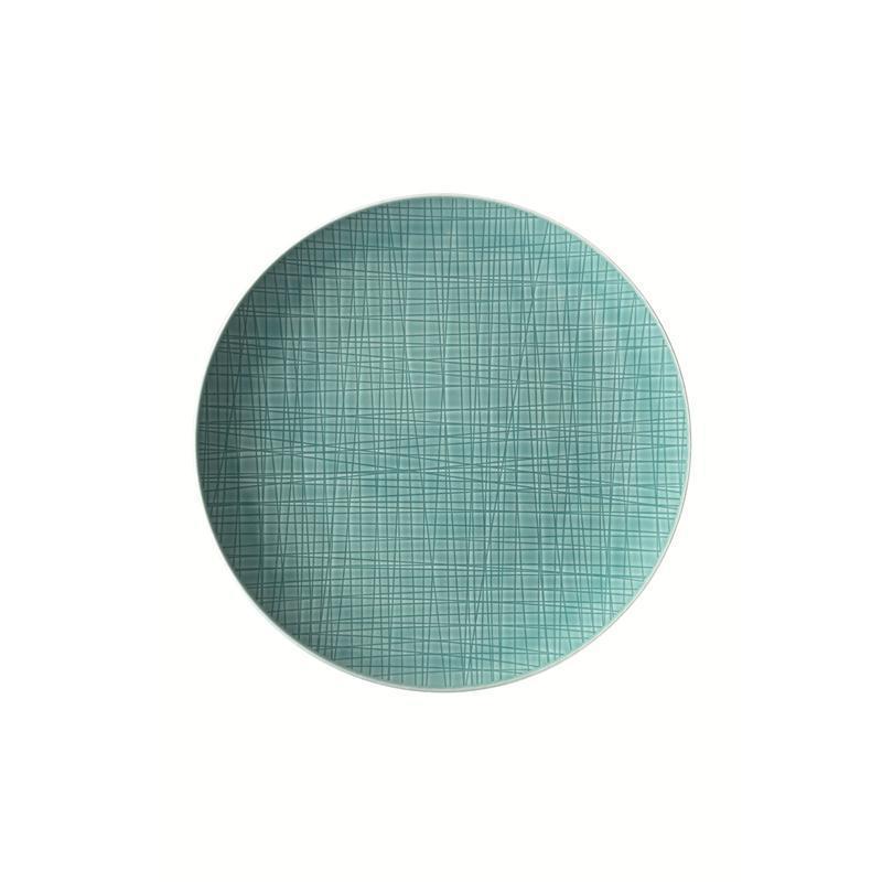 Rosenthal Mesh Aqua Teller flach 27 cm blau Speiseteller Essteller