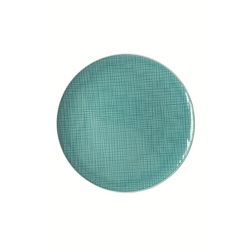 Rosenthal Mesh Aqua Teller flach 30 cm blau Platzteller Pizzateller