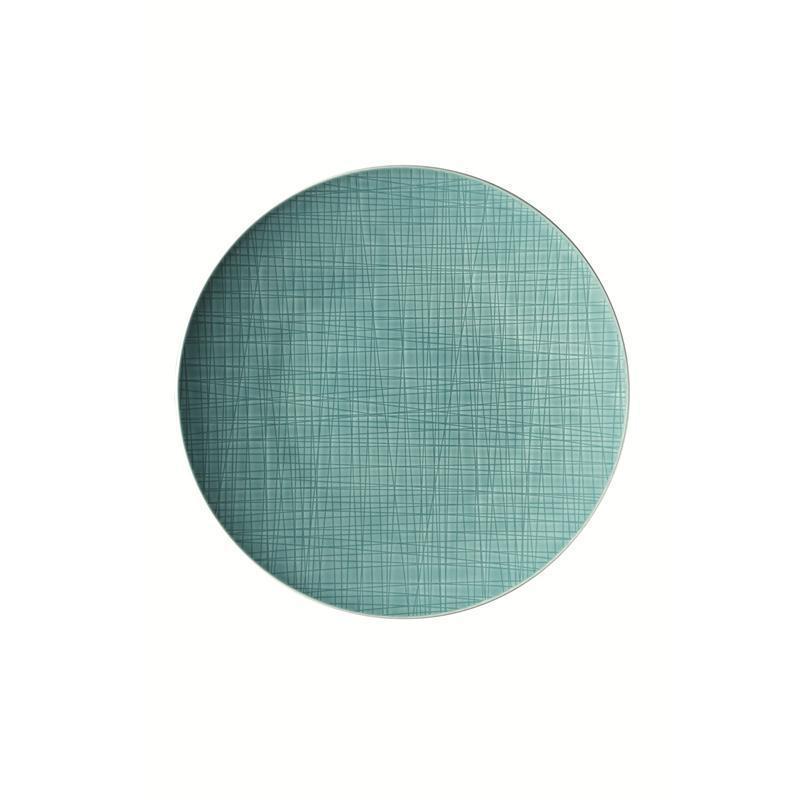 Rosenthal Mesh Aqua Teller flach 33 cm blau Platzteller Pizzateller