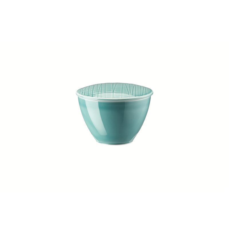 Rosenthal Mesh Aqua Zuckerdose 0,22 ltr. blau 2 tlg. Dose m.Deckel