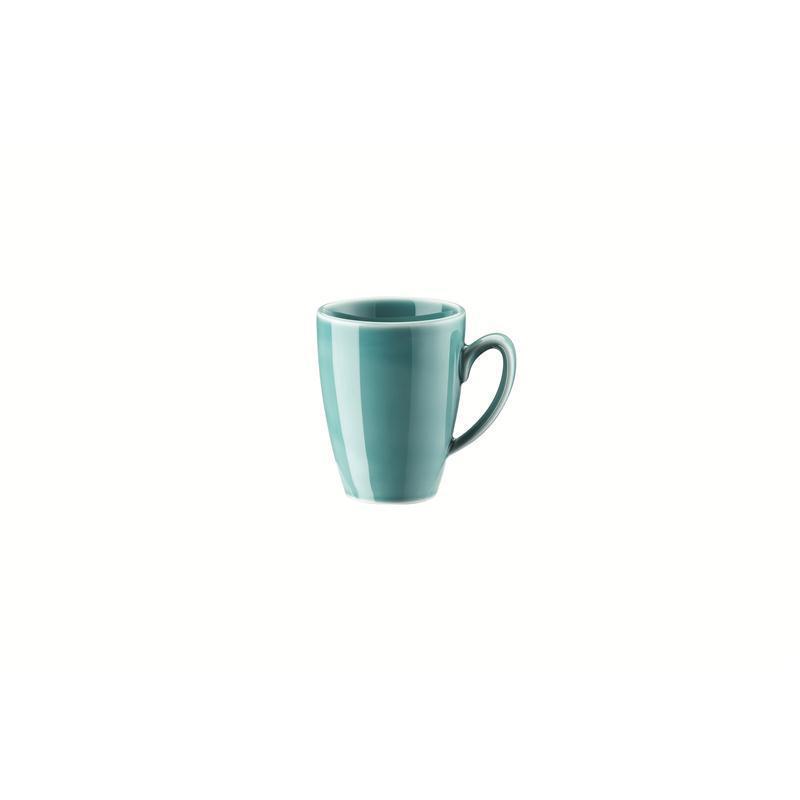 Rosenthal Mesh Aqua Espresso-Obertasse Mokkaobere 0,08 ltr. blau