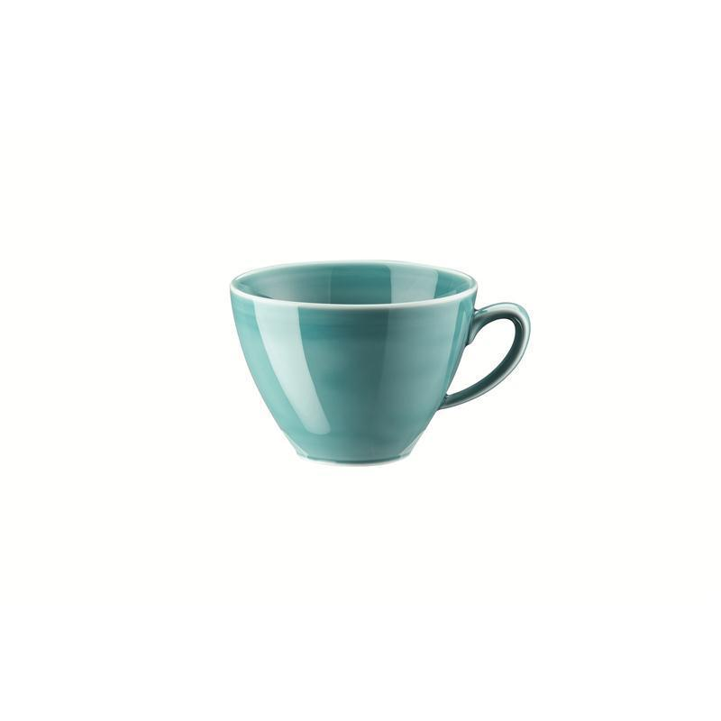Rosenthal Mesh Aqua Kombi-Obertasse Kaffeeobere Obertasse 0,29 ltr. blau