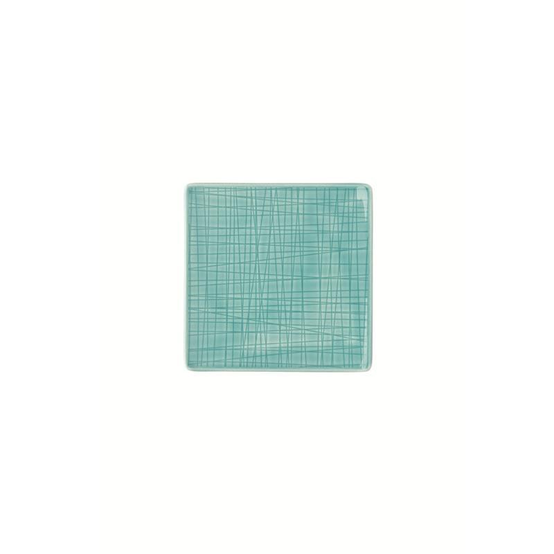 Rosenthal Mesh Aqua Teller quadr. 14 fl. blau