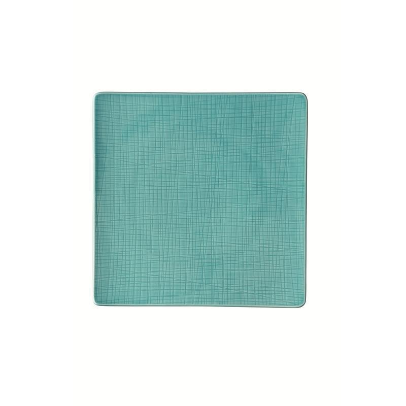 Rosenthal Mesh Aqua Teller quadr. 31 fl. blau