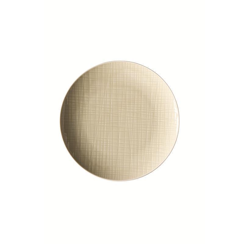 Rosenthal Mesh Cream Teller flach 21 cm beige Frühstücksteller