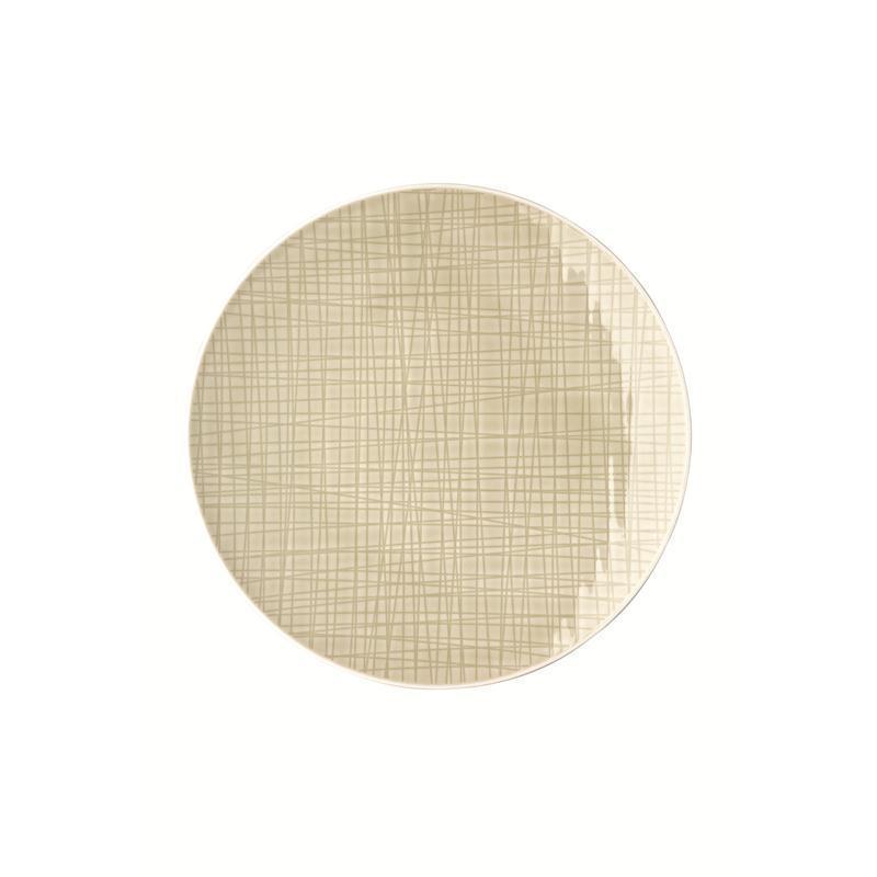 Rosenthal Mesh Cream Teller flach 24 cm beige kleiner  Speiseteller Essteller