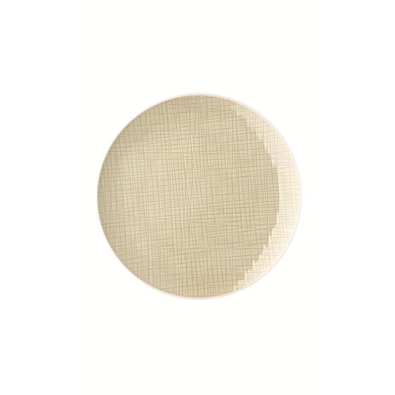 Rosenthal Mesh Cream Teller flach 27 cm beige Speiseteller Essteller