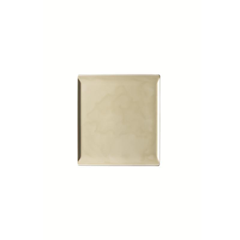 Rosenthal Mesh Cream Platte flach 26x24cm beige