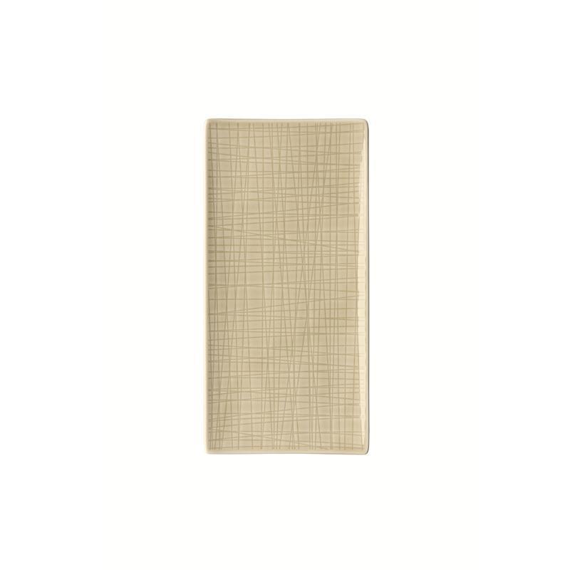 Rosenthal Mesh Cream Platte flach 26x13cm beige