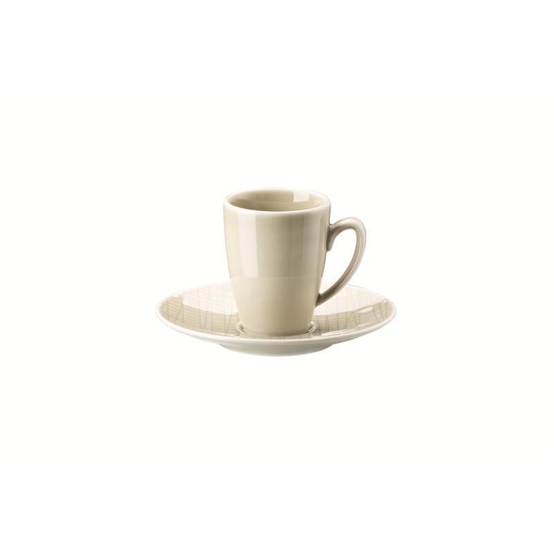 Rosenthal Mesh Cream Espressotasse 2-tlg. Mokkatasse 0,08 ltr. beige