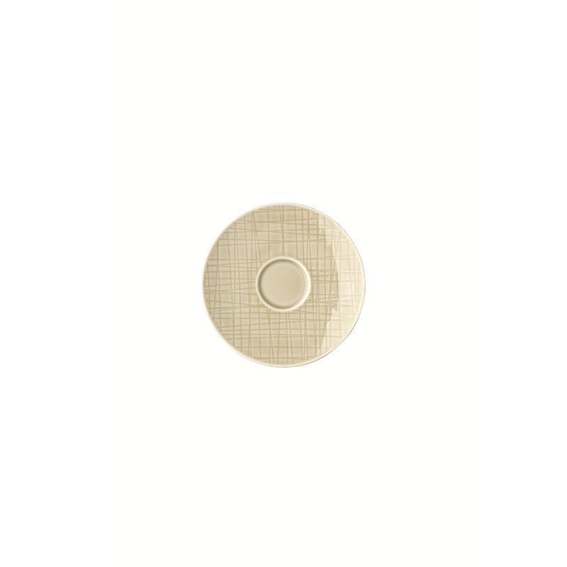 Rosenthal Mesh Cream Espresso-Untertasse Mokkauntere 12 cm beige