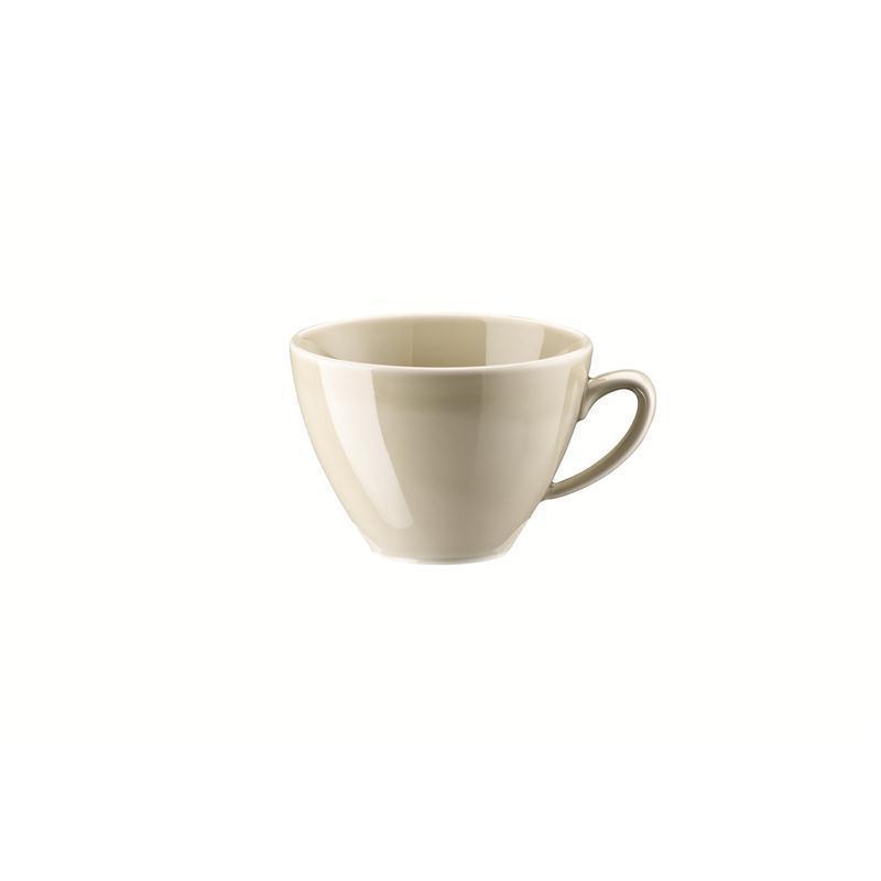 Rosenthal Mesh Cream Kombi-Obertasse Kaffeeobere Obertasse 0,29 ltr. beige