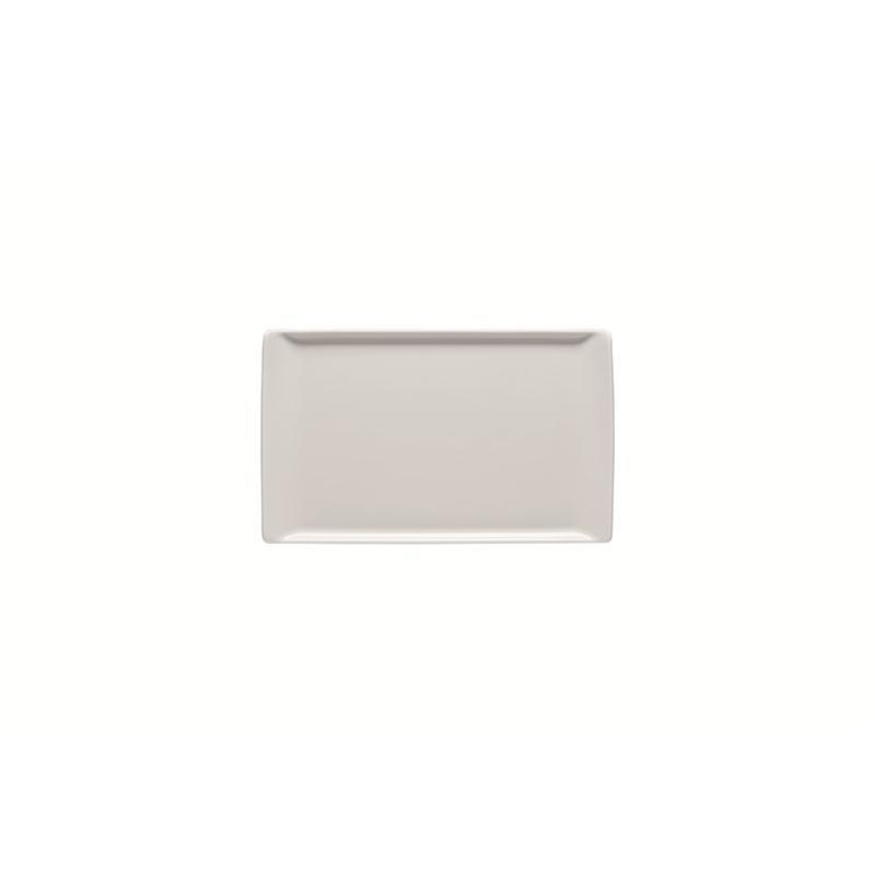 Rosenthal Mesh Weiss Platte flach 24x15cm