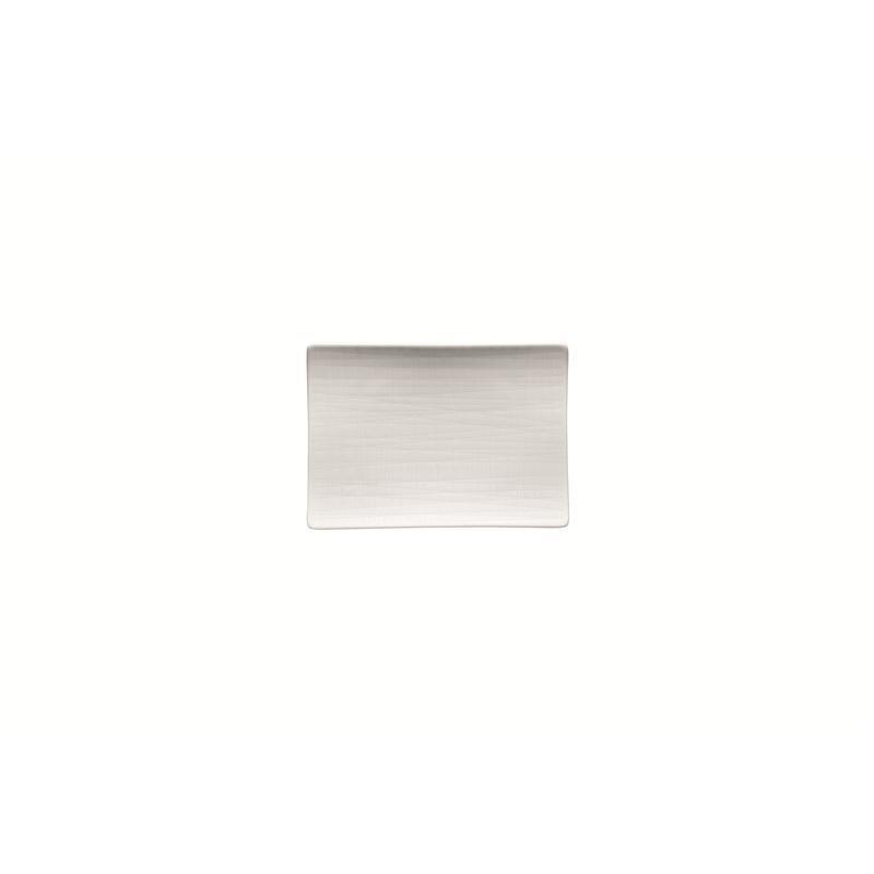 Rosenthal Mesh Weiss Platte flach 18x13cm
