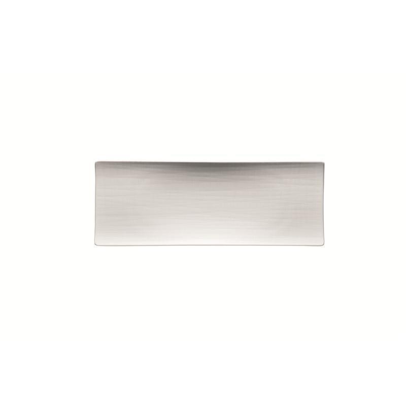 Rosenthal Mesh Weiss Platte flach 34x13cm